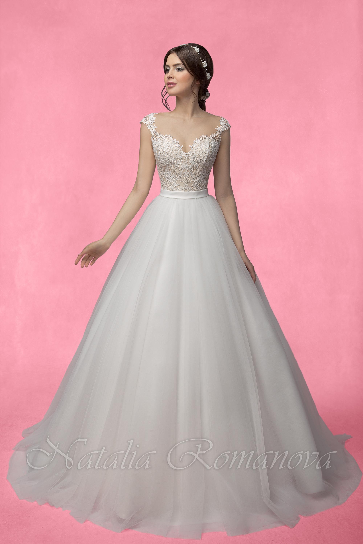 Свадебные платья романовой 2017