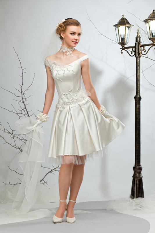 Фото свадебное платье для кокетки