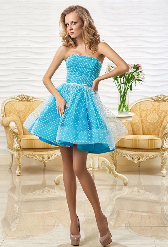 платья с кожаными цветами