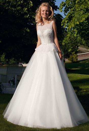 Пышные, красивые, элитные свадебные платья - самые